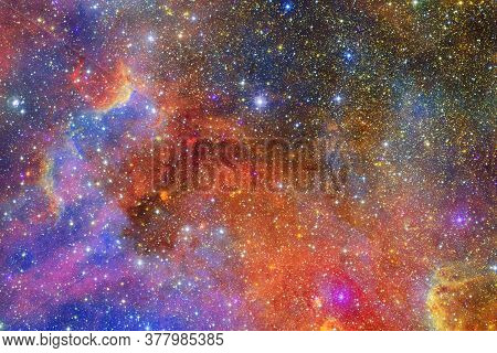 Outer Space, Cosmic Landscape. Nebula. Elements Of This Image Furnished By Nasa.