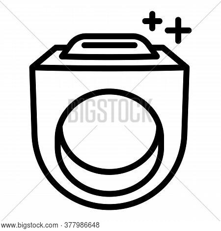Hiphop Ring Icon. Outline Hiphop Ring Vector Icon For Web Design Isolated On White Background