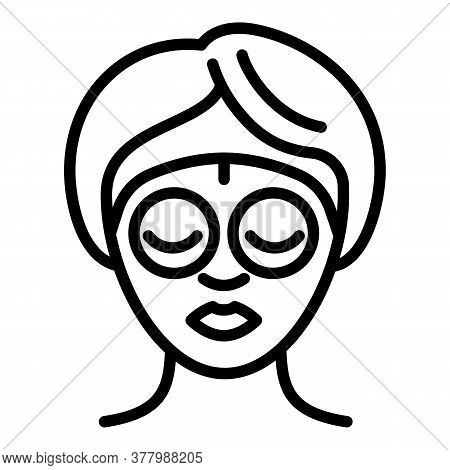Eyes Lifting Icon. Outline Eyes Lifting Vector Icon For Web Design Isolated On White Background