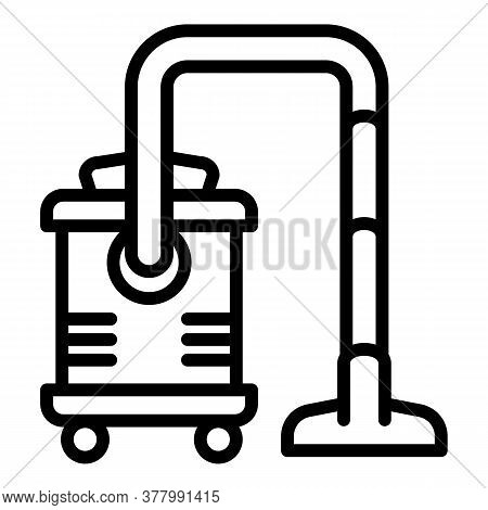 Professional Vacuum Cleaner Icon. Outline Professional Vacuum Cleaner Vector Icon For Web Design Iso