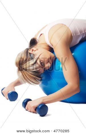 Tired Sportswoman