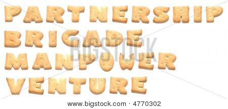 The Words: Partnership Brigade Manpower Venture Made Of Cookies