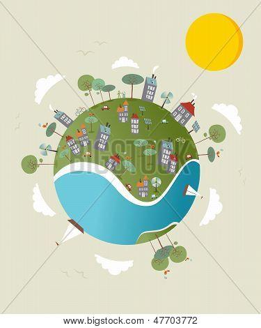 Go Green World Design