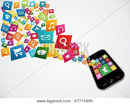 Smartphone Download Applications