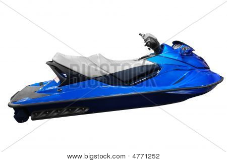 Jet Ski Isolated