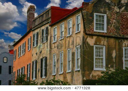 Charleston, South Carolina Colonial Row Homes