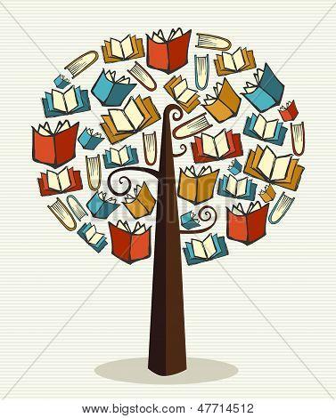 Concept Books Tree