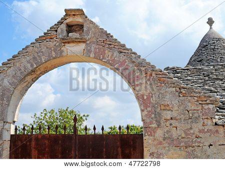 Trulli house, Italy