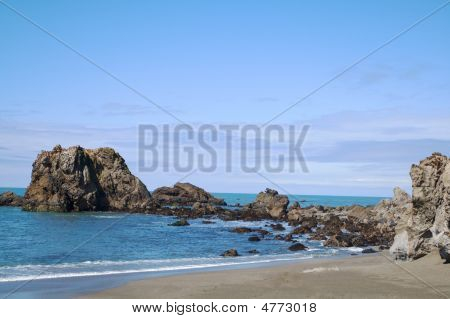 Bodeaga Bay Beach Near Arch Rock