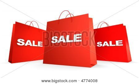 Three Sale Bags