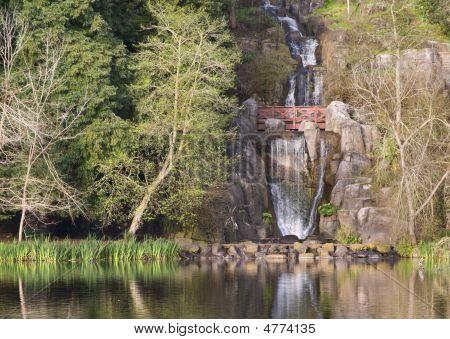 Waterfall At Stow Lake, San Francisco