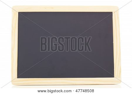 Blank Blackboard With Free Space For Your Text