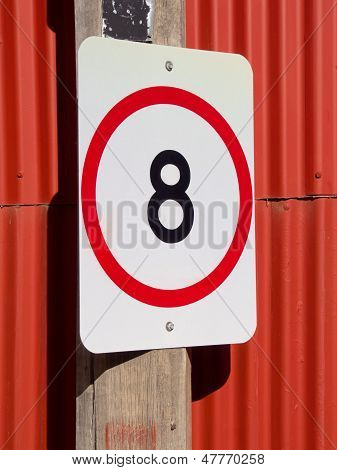 Eight Speed Limit On Red