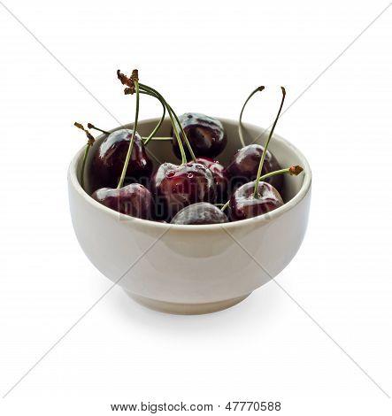 Mug With Cherries