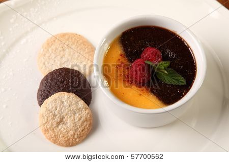 Dessert With Biscuits