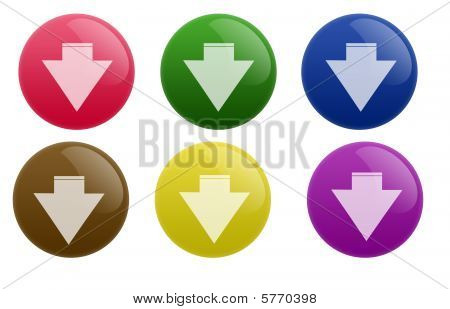 Glossy Download Button
