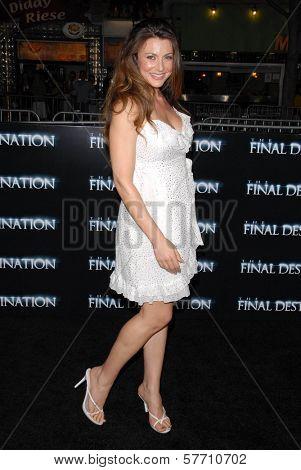 Cerina Vincent  at the World Premiere of 'The Final Destination'. Mann Village Westwood, Westwood, CA. 08-27-09
