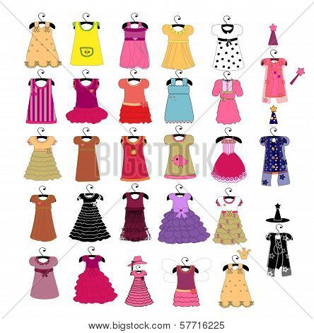 fashionable beautiful clothes for little girls