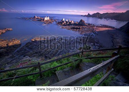 Sunrise on Gueirua