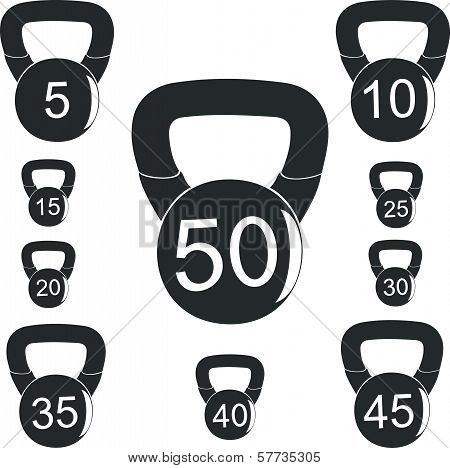Weights for sports activities