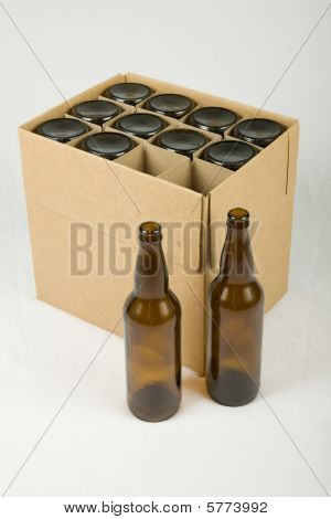 Beer Bottles In Box