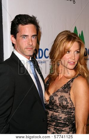 Adam Kaufman and Poppy Montgomery at the Natural Resources Defense Council's 20th Anniversary Celebration. Beverly Wilshire Hotel, Beverly Hills, CA. 04-25-09