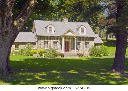 Classic old stone home.