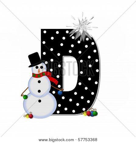 Alphabet Frosty D