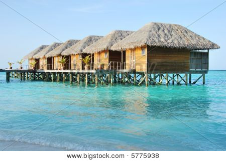 Water Villas In Maldives