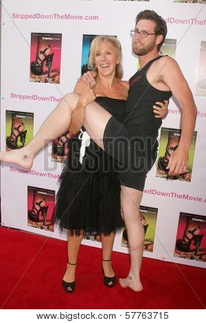 Elana Krausz and James Avallone at the Los Angeles Premiere of