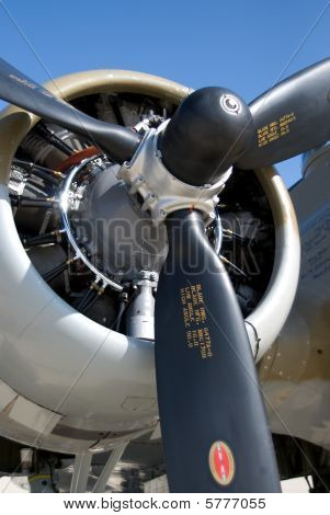 propellor from vintage bomber