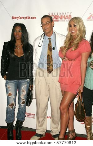 Mike Horner and Mary Carey  at the 'Celebrity Pornhab with Dr. Screw' Premiere Party. Les Deux, Hollywood, CA. 06-01-09