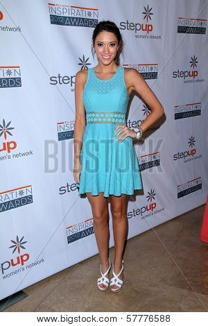 Blair Fowler at the Step Up Women Network 9th Annual Inspiration Awards, Beverly Hilton Hotel, Beverly Hills, CA 06-08-12