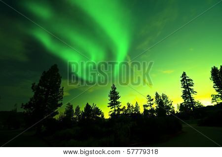 Northern Lights aurora borealis