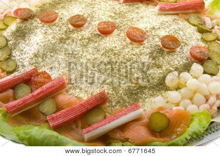 Fish Salad With Salmon