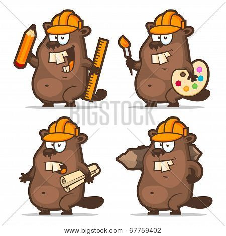 Beaver designer painter engineer builder