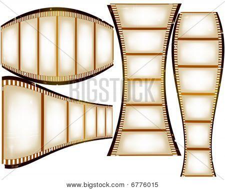 Warped Film Strips