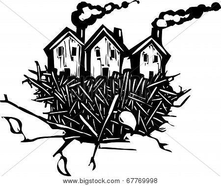 Nesting Houses