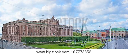 The Parliament Of Sweden