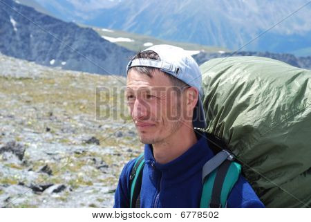 Man With A Big Backpack