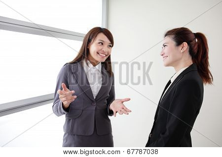 Smile Business Woman Team