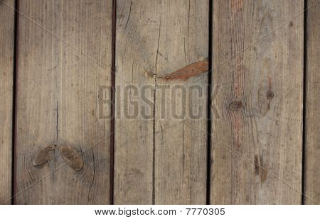 Fence Made From Wood