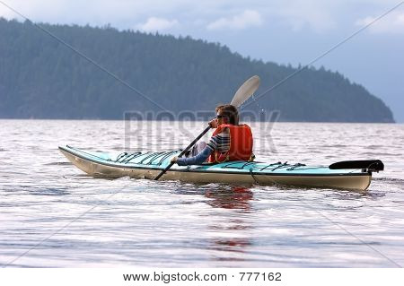 Lady Kayaker