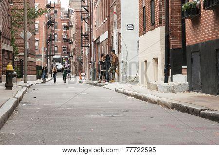 Backstreet youth
