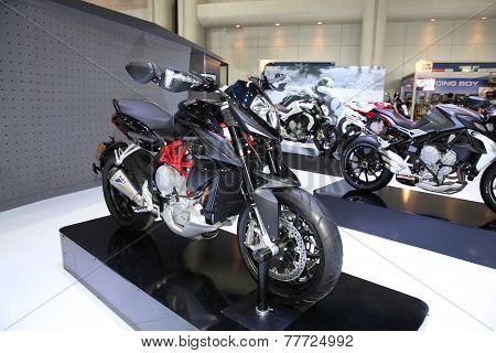 Bangkok - November 28: Agusta Rivale Motorcycle On Display At The Motor Expo 2014 On November 28, 20