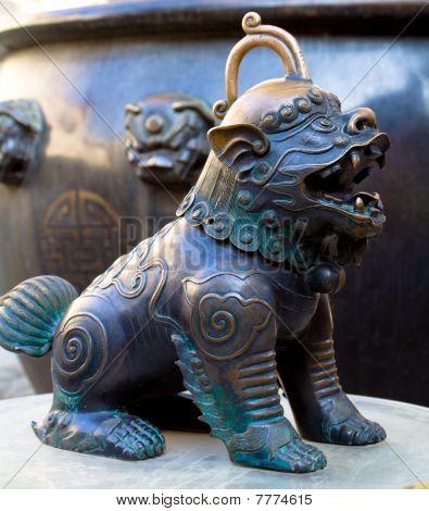 kylin animal statue