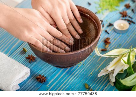 Finger nails care
