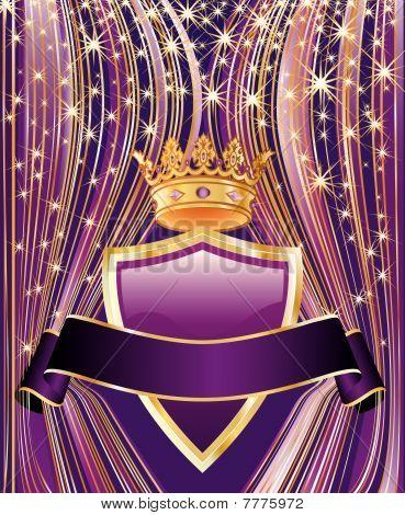 Purple Curtain Shield