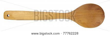 Wooden Spoon Isolated