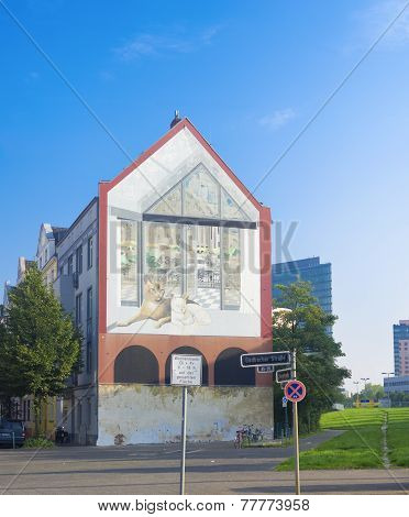 House With Mural
